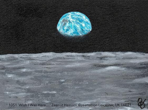 1051 'Wish I Was Here....' Zeenat Hassam @zeenatron Leicester, UK TAE21