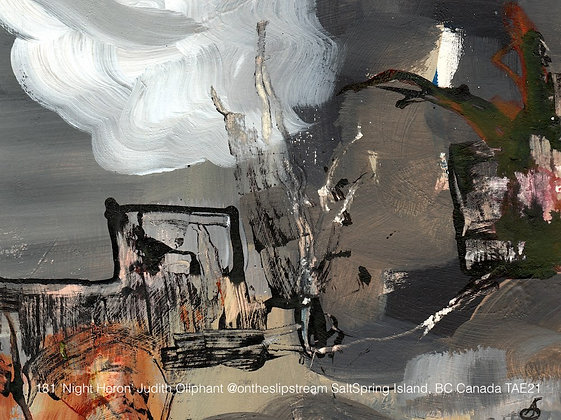 181 'Night Heron' Judith Oliphant @ontheslipstream BC, Canada TAE21