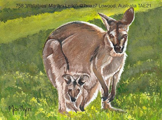 758 'Wallabies' Marilyn Leitch @7maz7, Australia TAE21