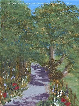 435 'Country Lane' Glenda Busby @Glendabuzz Swanley Kent, UK TAE21