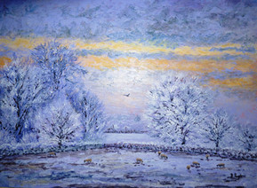 Winter sunset .JPG