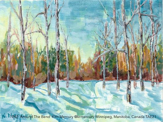1042 'Around The Bend' Kim Mercury @krmercury Winnipeg, Manitoba, Canada TAE21