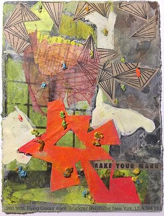 260 'With Flying Colors' Karin Bruckner @kbmatter New York, USA TAE21