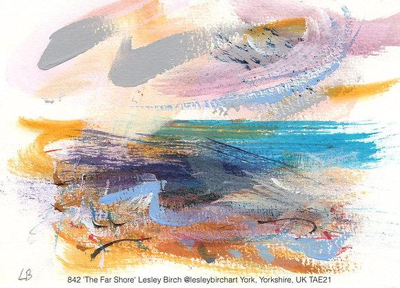842 'The Far Shore' Lesley Birch @lesleybirchart York, Yorkshire, UK TAE21