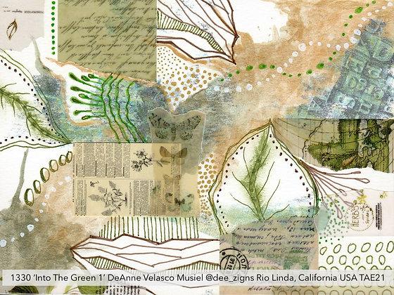 1330 'Into The Green 1' DeAnne Velasco Musiel @dee_zigns USA TAE21