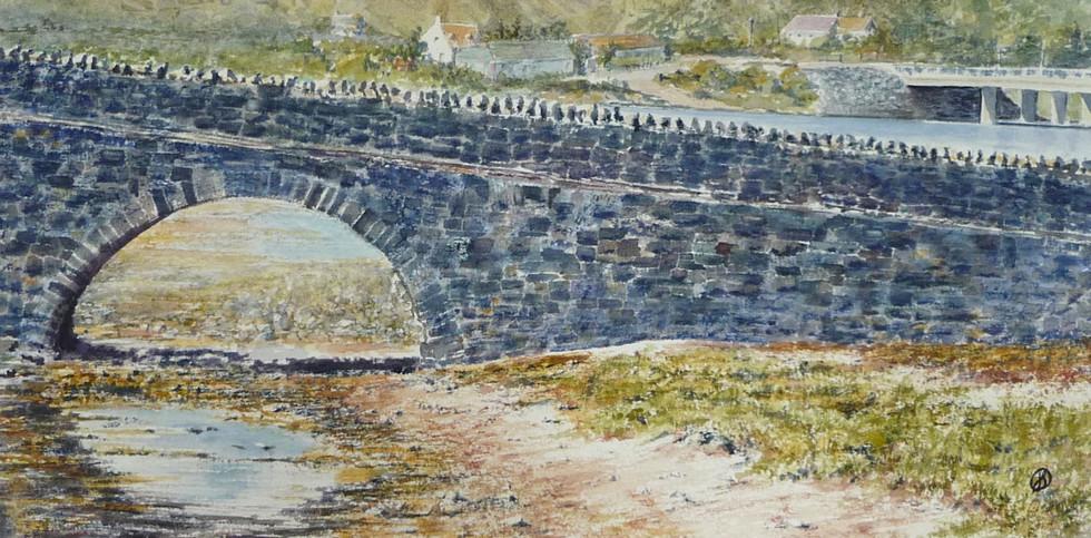 Bridge to Eilean Donan.JPG