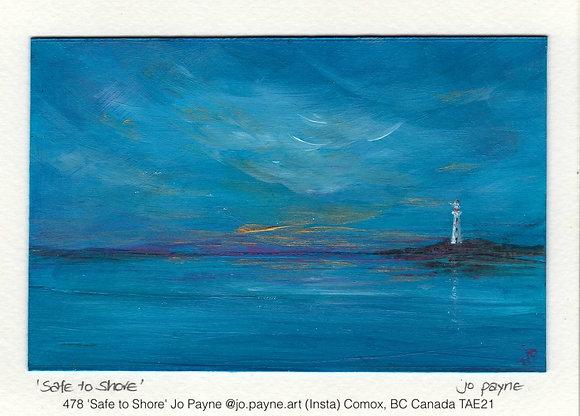 478 'Safe to Shore' Jo Payne @jo.payne.art (Insta) BC Canada TAE21