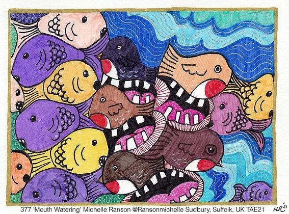 377 'Mouth Watering' Michelle Ranson @Ransonmichelle Sudbury, Suffolk, UK TAE21