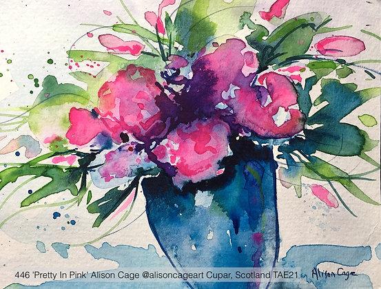 446 'Pretty In Pink' Alison Cage @alisoncageart Cupar, Scotland TAE21
