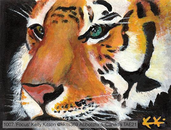 1007 'Focus' Kelly Kitson @kkits369 Abbotsford Canada TAE21