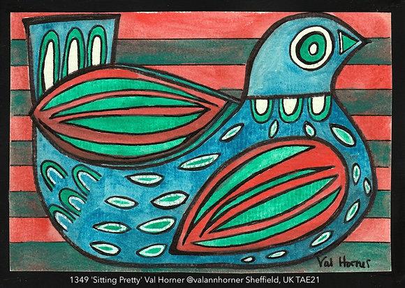 1349 'Sitting Pretty' Val Horner @valannhorner Sheffield, UK TAE21