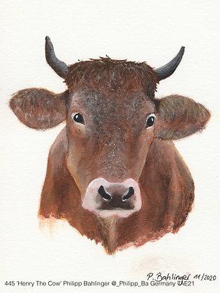 445 'Henry The Cow' Philipp Bahlinger @_Philipp_Ba Wolpertshausen, Germany TAE21