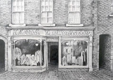 Black Country Museum Clothes Shop (©Lesley Brockbank)