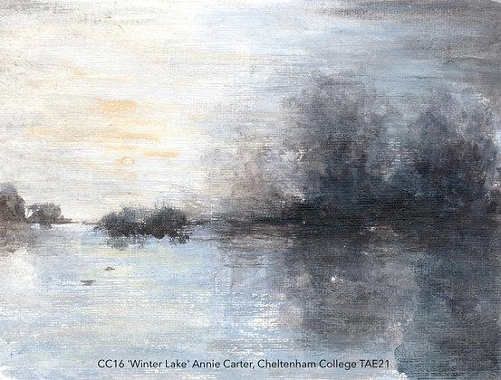 CC16 'Winter Lake' Annie Carter, Cheltenham College TAE21