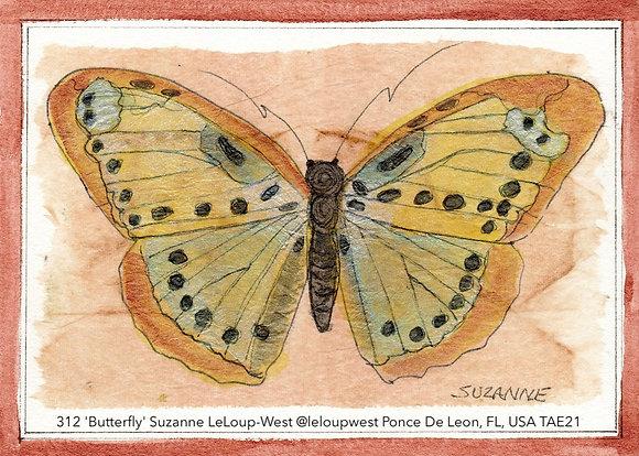 312 'Butterfly' Suzanne LeLoup-West @leloupwest Ponce De Leon, FL, USA TAE21