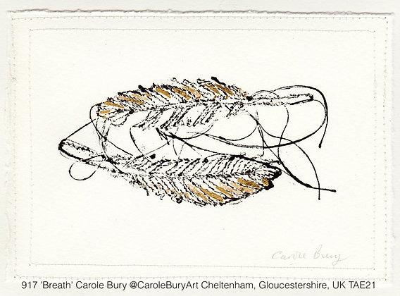 917 'Breath' Carole Bury @CaroleBuryArt Cheltenham, Gloucestershire, UK TAE21