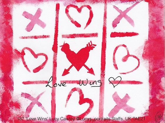 187 'Love Wins' Lucy Cawley @Lucys_portraits Staffs, UK TAE21