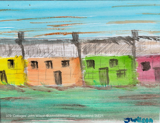 379 'Cottages' John Wilson @John58Wilson Cupar, Scotland TAE21