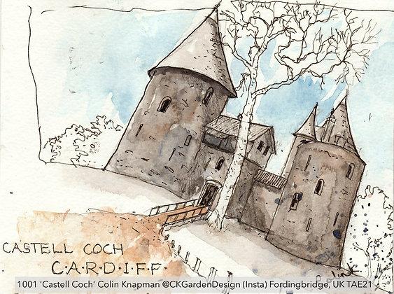 1001 'Castell Coch' Colin Knapman @CKGardenDesign (Insta)  UK TAE21