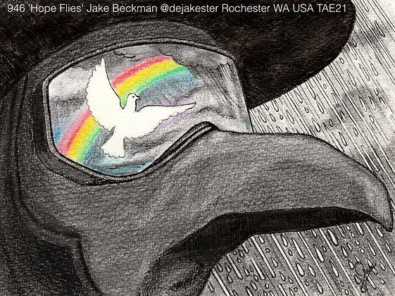 946 'Hope Flies' Jake Beckman @dejakester Rochester WA USA TAE21
