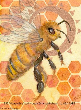 853 'Honey Bee' Lori Hutton @rhyssafireheart IL, USA TAE21