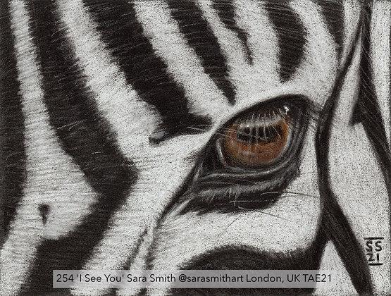 254 'I See You' Sara Smith @sarasmithart London, UK TAE21