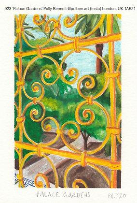 923 'Palace Gardens' Polly Bennett @polben.art (Insta) London, UK TAE21