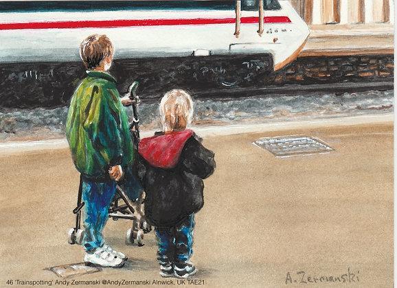 46 'Trainspotting' Andy Zermanski @AndyZermanski Alnwick, UK TAE21