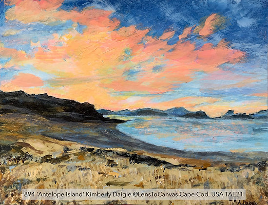 894 'Antelope Island' Kimberly Daigle @LensToCanvas Cape Cod, USA TAE21