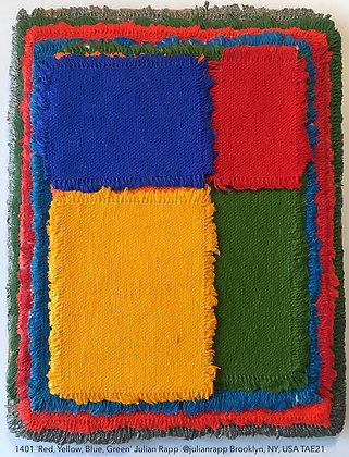 1401 'Red, Yellow, Blue, Green' Julian Rapp  @julianrapp Brooklyn, NY, USA TAE21