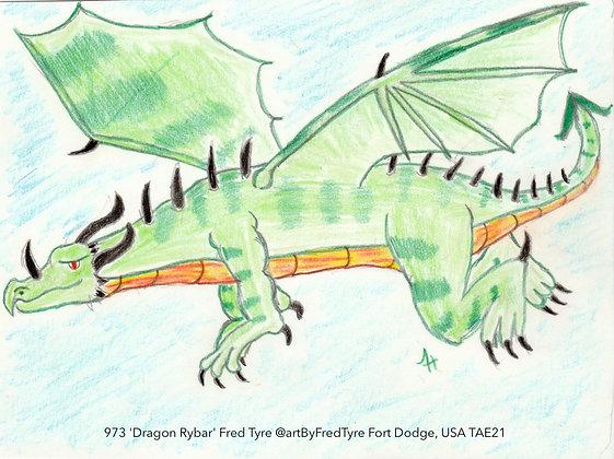 973 'Dragon Rybar' Fred Tyre @artByFredTyre Fort Dodge, USA TAE21
