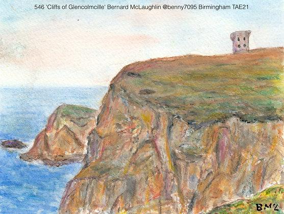 546 'Cliffs of Glencolmcille' Bernard McLaughlin @benny7095 Birmingham TAE21