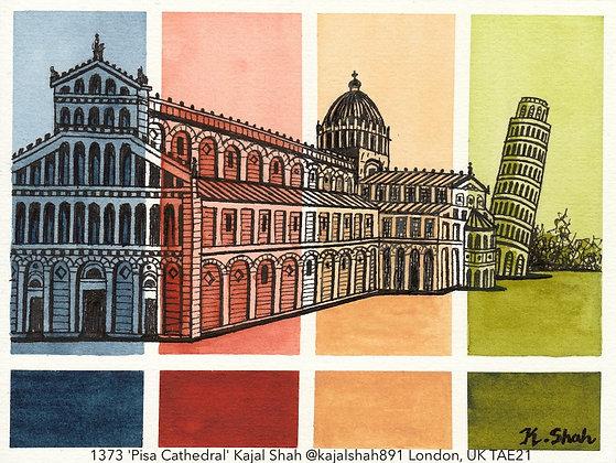 1373 'Pisa Cathedral' Kajal Shah @kajalshah891 London, UK TAE21