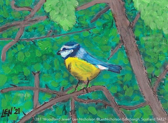287 'Woodland Jewel' Len Nicholson @LenNicholson Edinburgh, Scotland TAE21