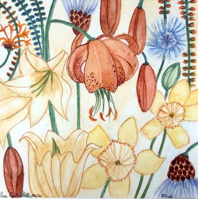 Flora after C R Mackintosh