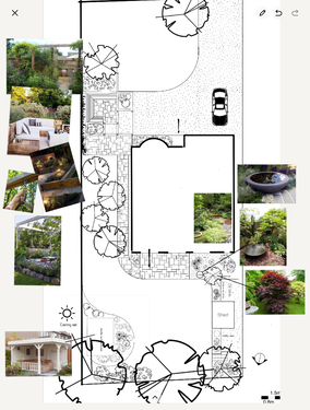 Large country Garden redesign