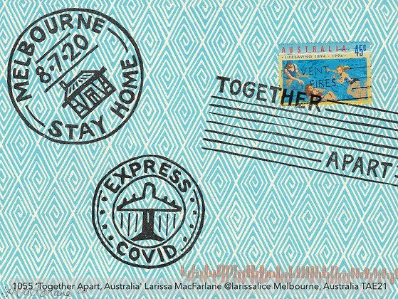 1055 'Together Apart, Australia' Larissa MacFarlane @larissalice Aus TAE21