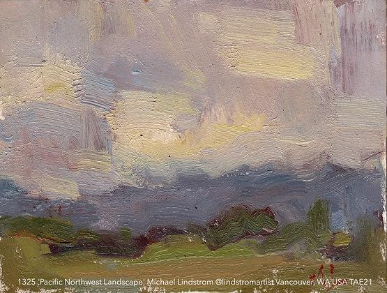 1325 'Pacific Northwest Landscape' Michael Lindstrom @lindstromartist TAE21