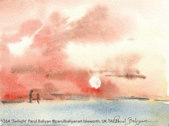 1364 'Twilight' Parul Baliyan @parulbaliyanart UK TAE21