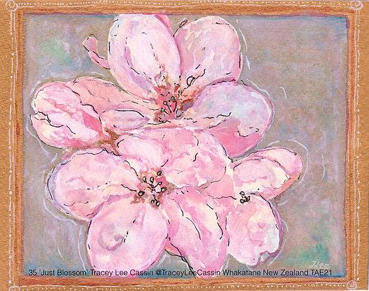 35 'Just Blossom' Tracey Lee Cassin @TraceyLeeCassin Whakatane New Zealand TAE21