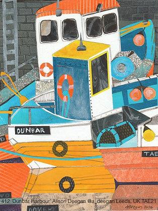 412 'Dunbar Harbour' Alison Deegan @a_deegan Leeds, UK TAE21