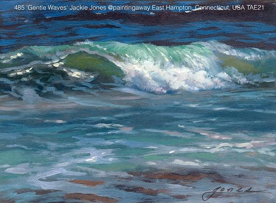 485 'Gentle Waves' Jackie Jones @paintingaway  Connecticut, USA TAE21