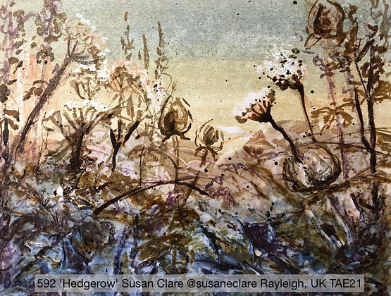 592 'Hedgerow' Susan Clare @susaneclare Rayleigh, UK TAE21