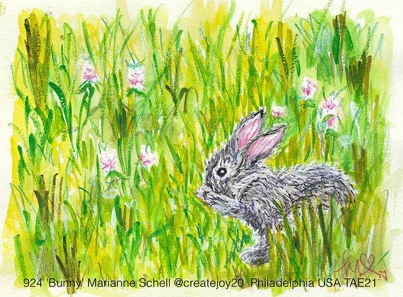 924 'Bunny' Marianne Schell @createjoy20  Philadelphia USA TAE21