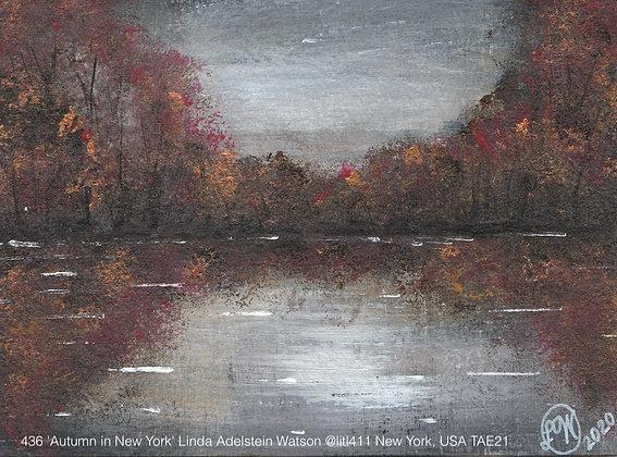 436 'Autumn in New York' Linda Adelstein Watson @litl411 New York, USA