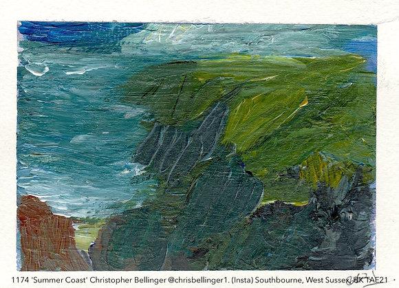 1174 'Summer Coast' Christopher Bellinger @chrisbellinger1. UK TAE21