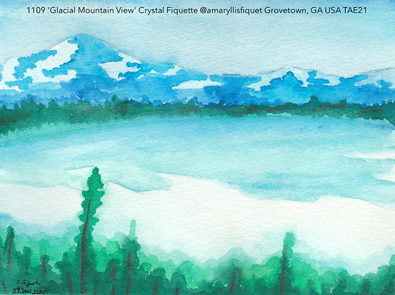 1109 'Glacial Mountain View' Crystal Fiquette @amaryllisfiquet  USA TAE21