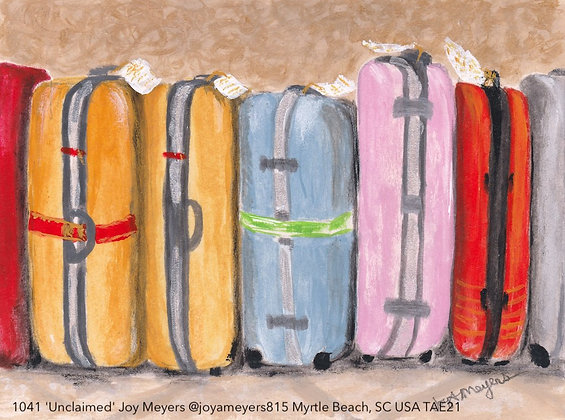 1041 'Unclaimed' Joy Meyers @joyameyers815 Myrtle Beach, SC USA TAE21