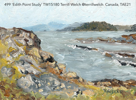 499 'Edith Point Study' TW15180 Terrill Welch @terrillwelch Canada TAE21