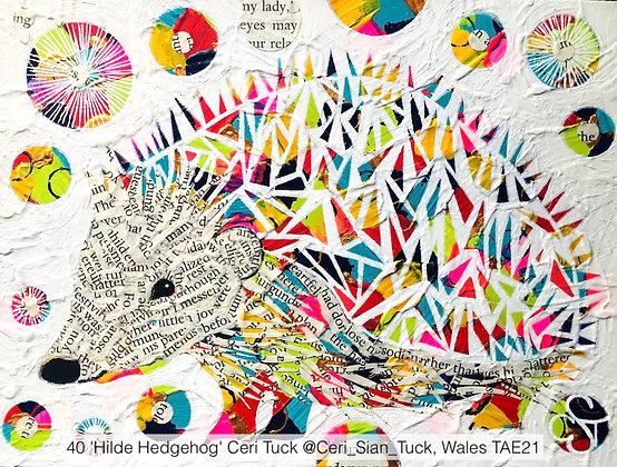 40 'Hilde Hedgehog' Ceri Tuck @Ceri_Sian_Tuck, Wales TAE21
